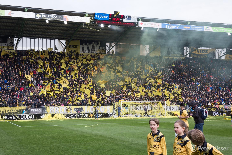NAC verliest met 0-1 van Roda JC.