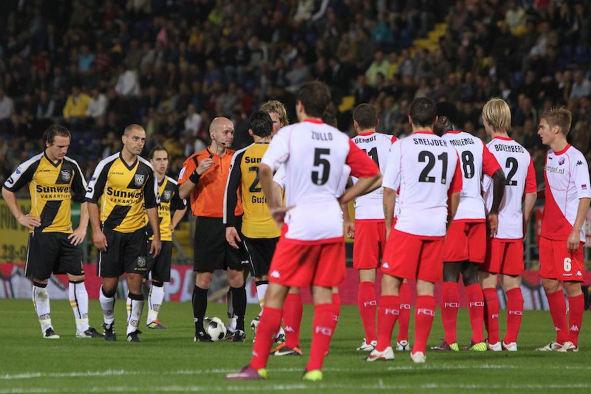 NAC wint op de valreep van FC Utrecht. foto Peter Visser