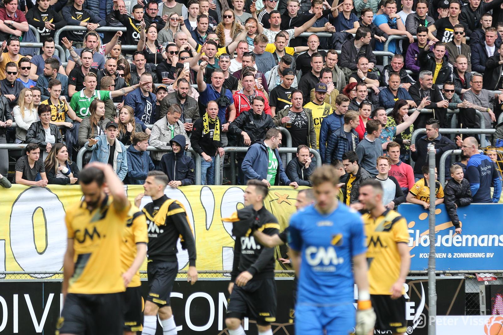NAC heeft met 1-2 verloren van Willem II en is nog niet verzekerd van een verlengd verblijf in de eredivisie.