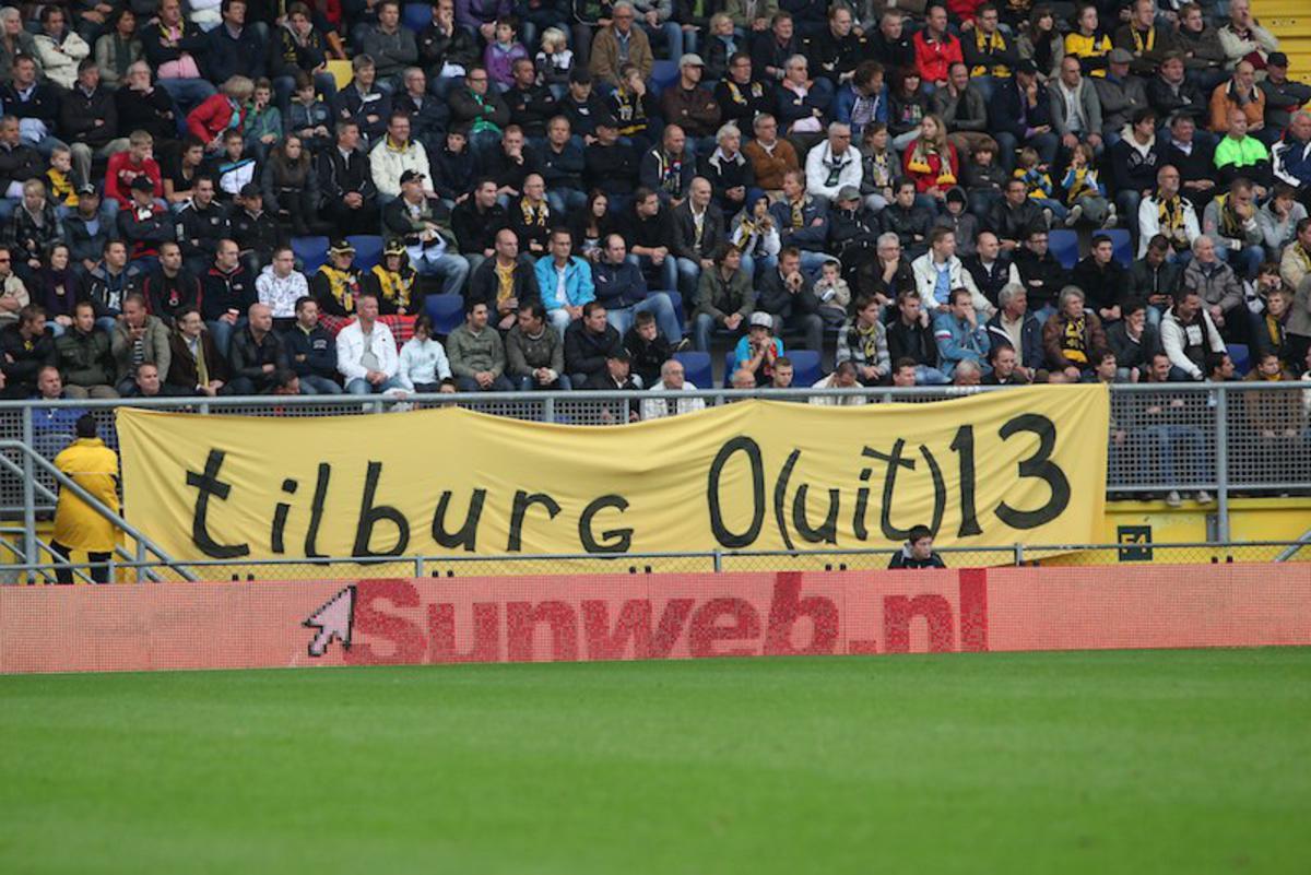 NAC verslaat Willem II met 2-1. foto Peter Visser