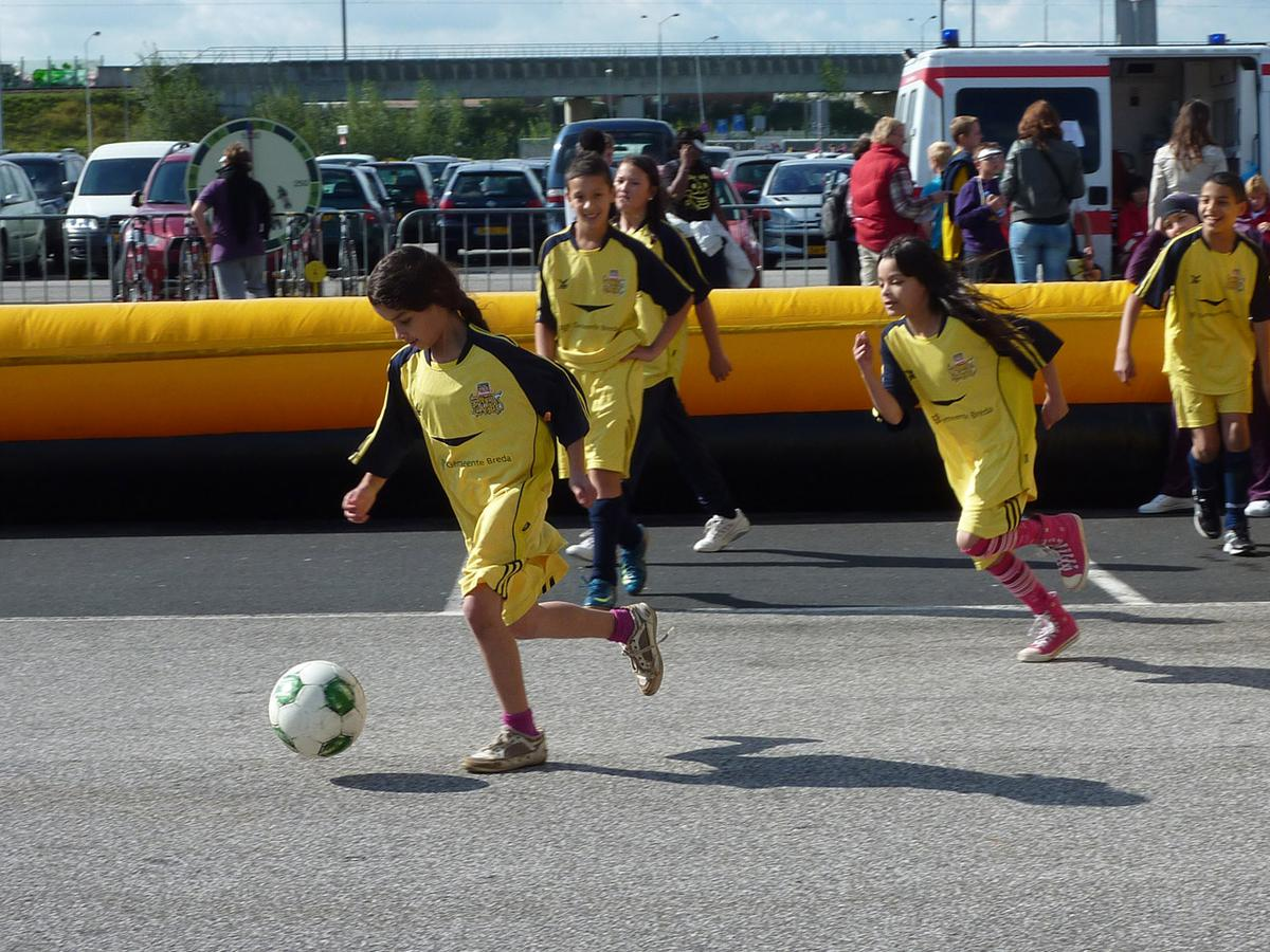 De NAC Street League is weer begonnen. foto Yvonne Vermeulen.