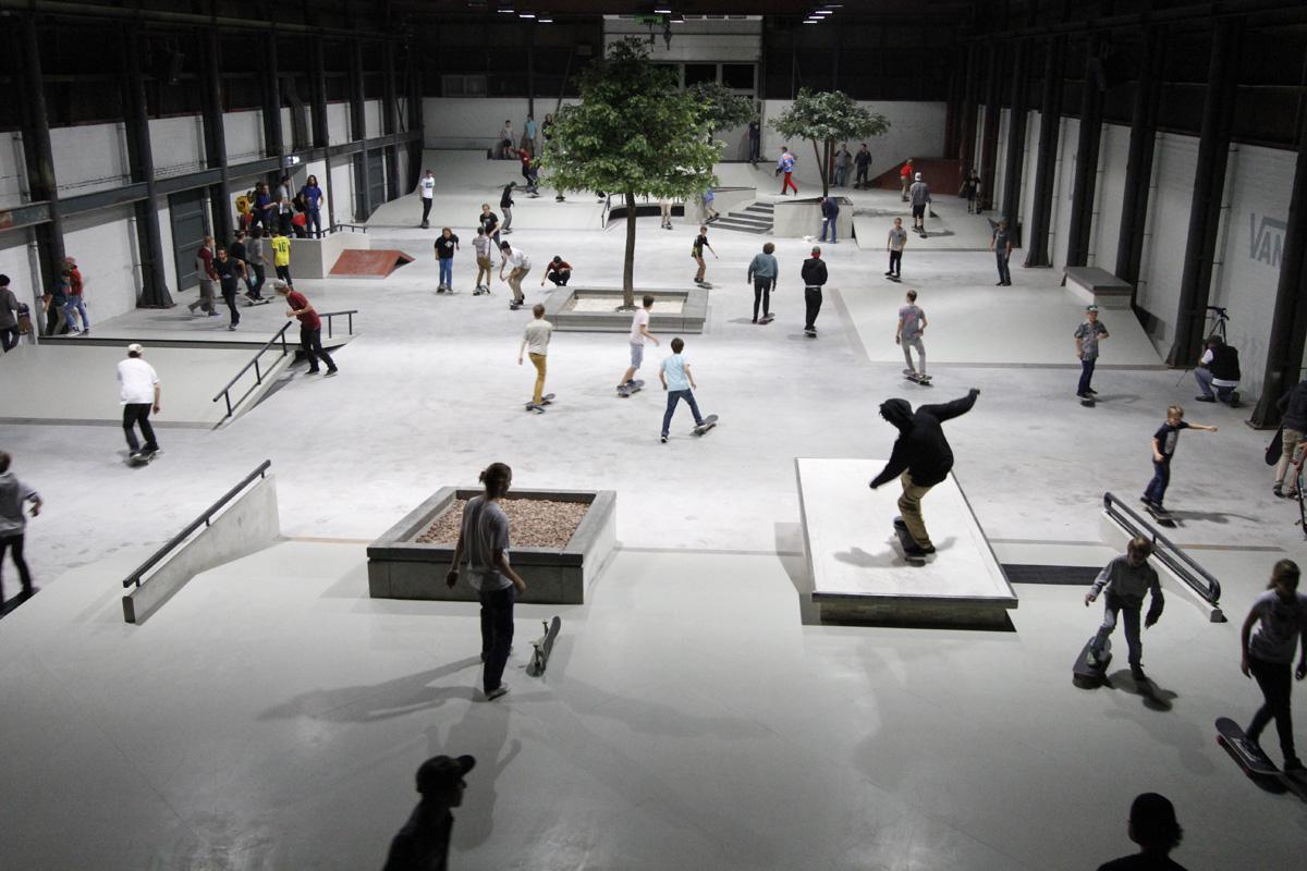 De eerste avond van skatepark Pier 15 in Breda.