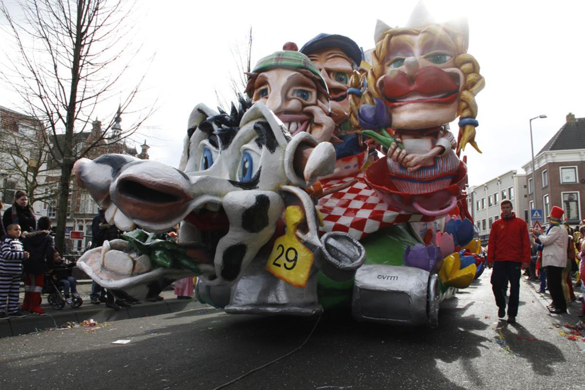 Ut wor plakke of dweile, ook in de Grote Optocht van 't Kielegat, maandag 3 maart 2014. foto Wijnand Nijs
