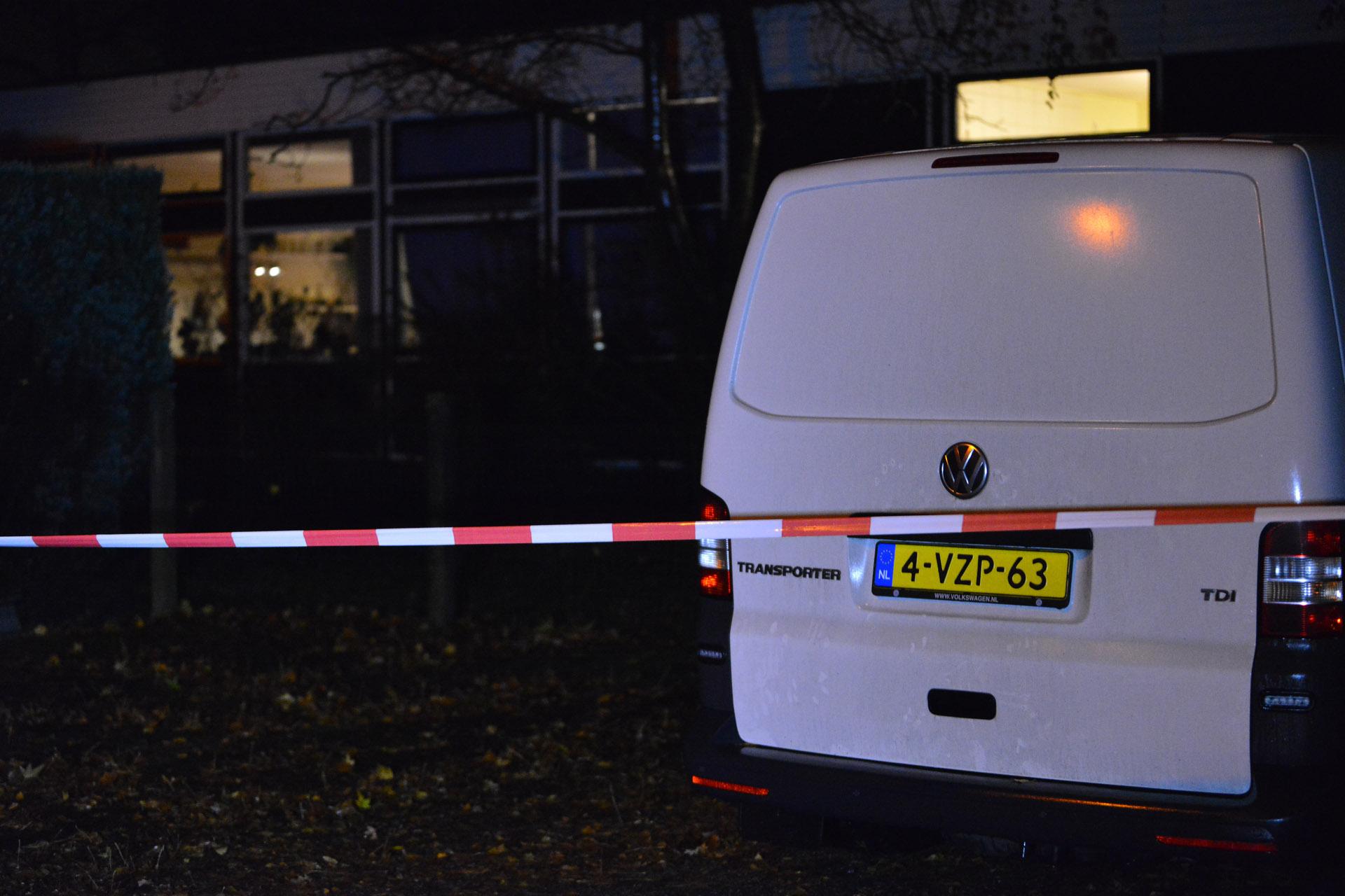 Een woning aan de Strijbeekseweg in Ulvenhout is overvallen.