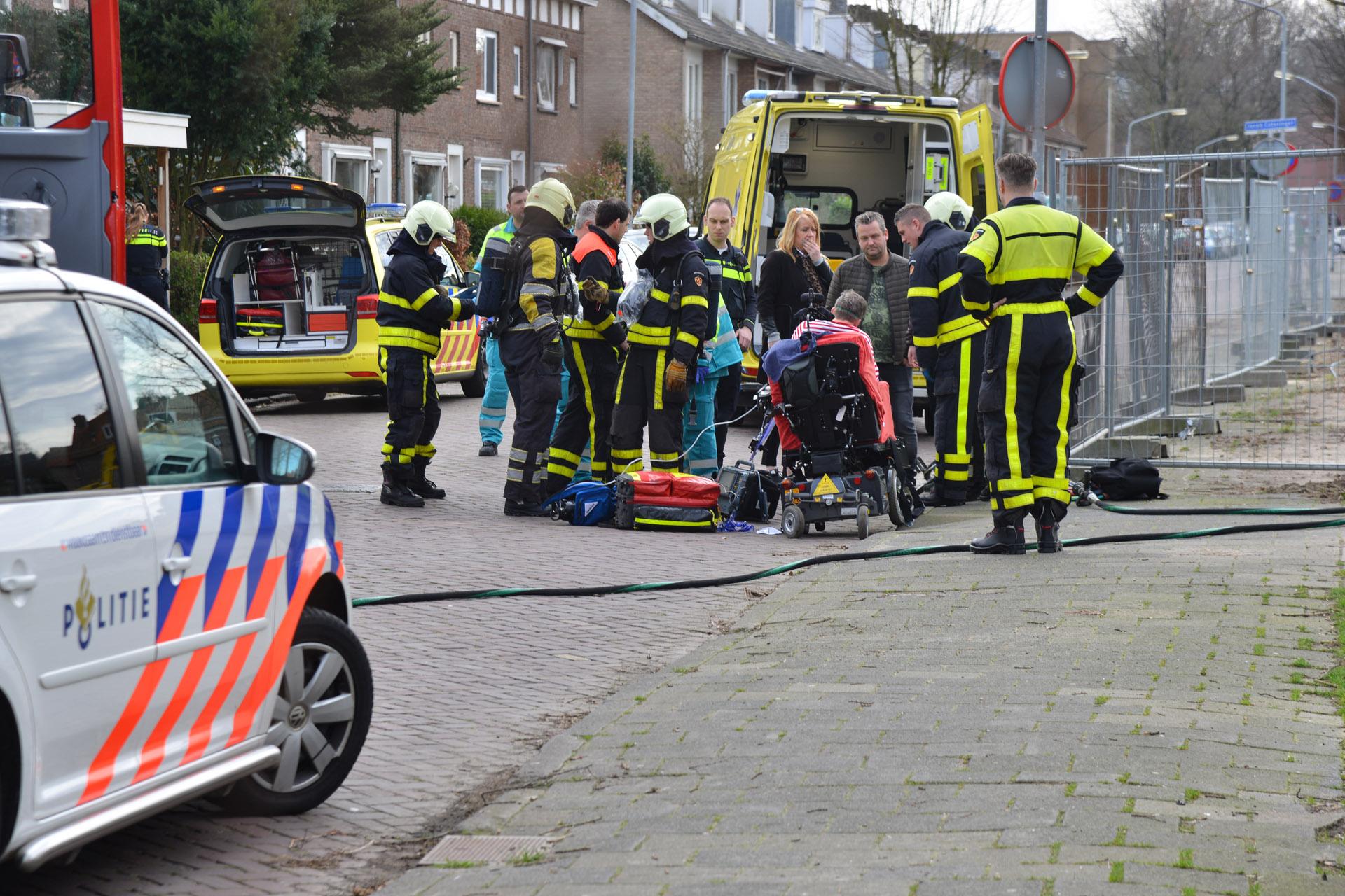 Een vrouw is vrijdag rond 13.00 uur met een bijtende vloeistof overgoten op de Jacob Catssingel in Breda.