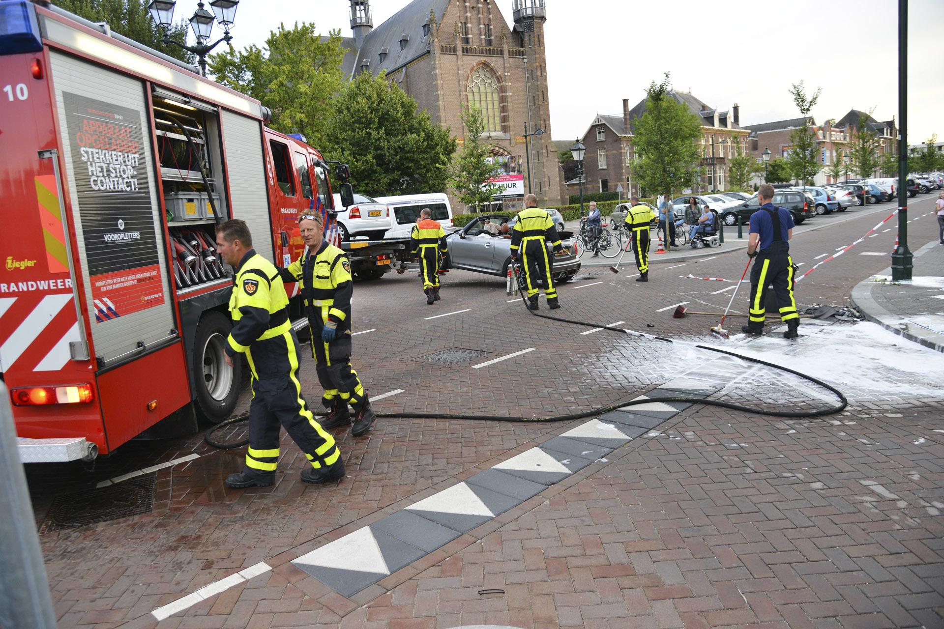 Ongeval op de kruising Haagweg-Tramsingel-Weerijssingel.