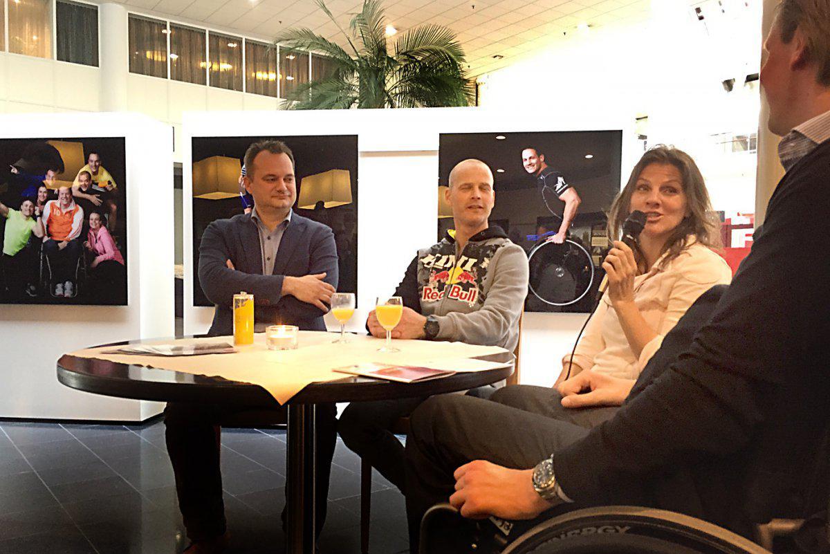 Wethouder Van den berg, Jurgen van den Goorbergh, Monique Velzenboer