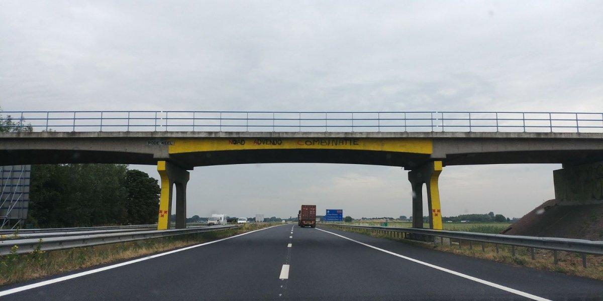 A59 richting Breda dit weekend afgesloten door werkzaamheden