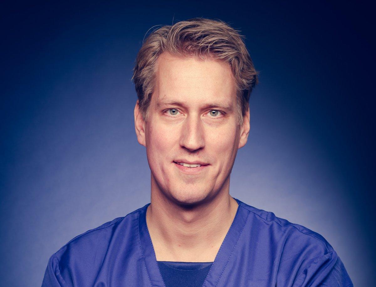 Dermatoloog Roeland Ceulen.