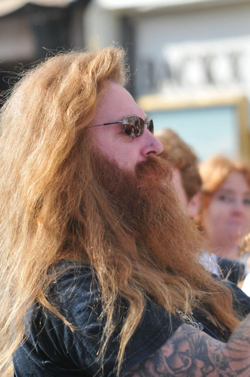 Man met rood haar foto Perry Roovers