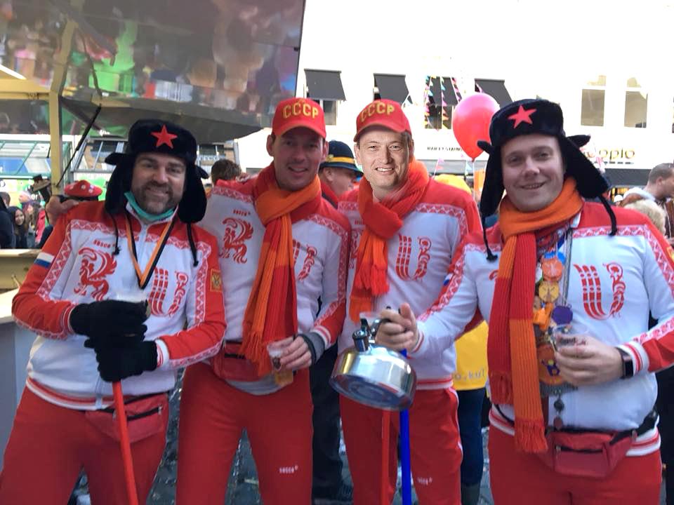 Klaas Dijkhoff, Daan Quaars, Halbe Zijlstra (...)  en Thierry Aartsen.