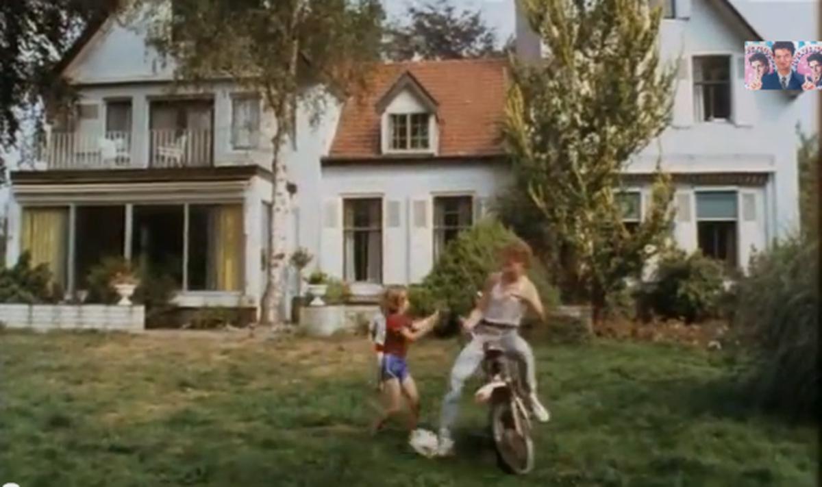 De villa werd gebruikt in de film Schatjes uit 1984. beeld YouTube