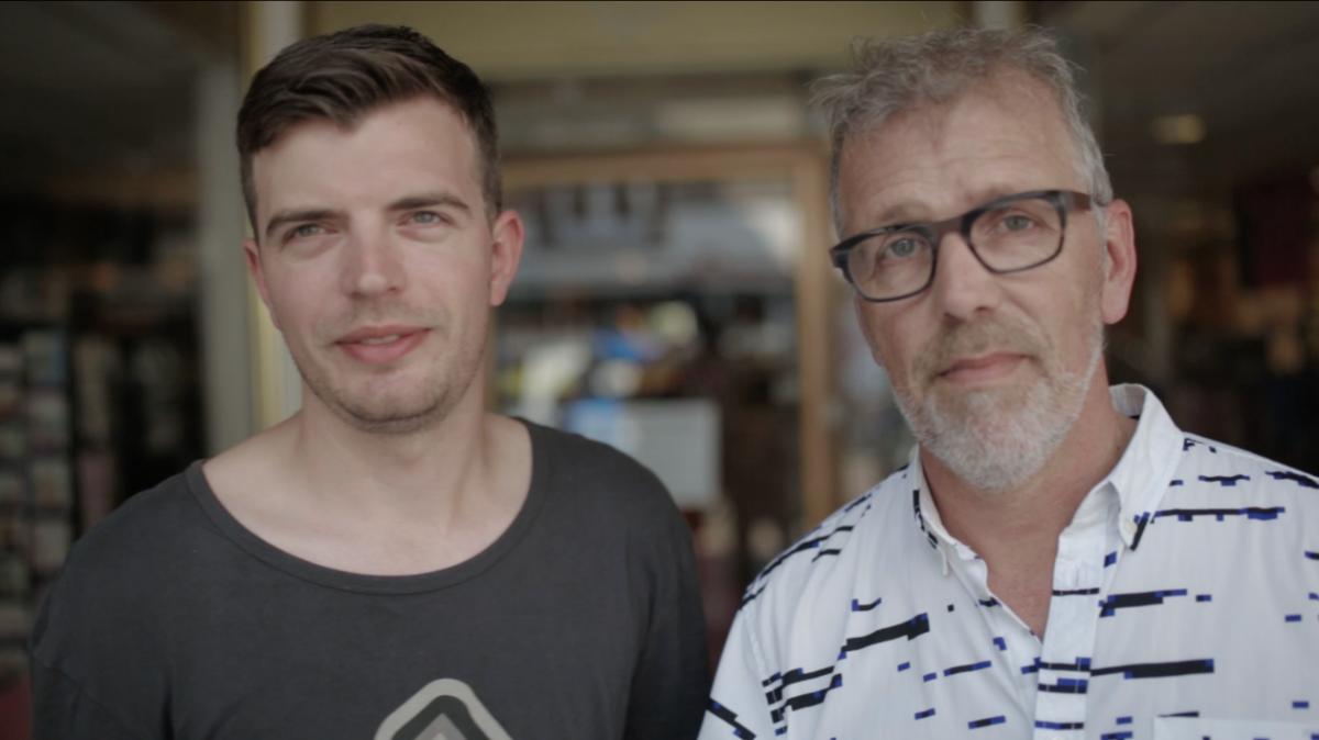 Ralf Verheul en Rob van Uden van Kamu.