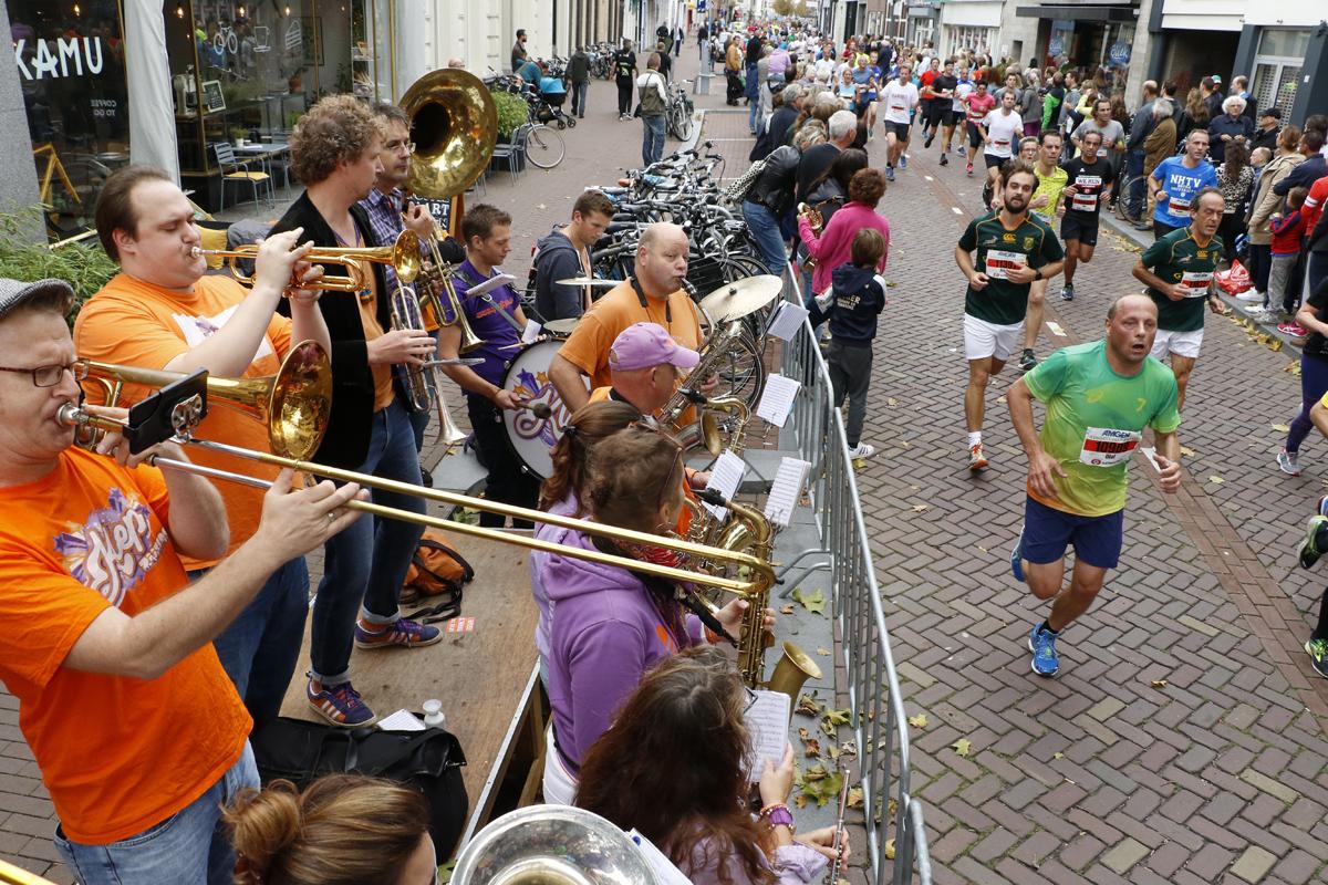 Gezelligheid Boschstraat Singelloop 2017