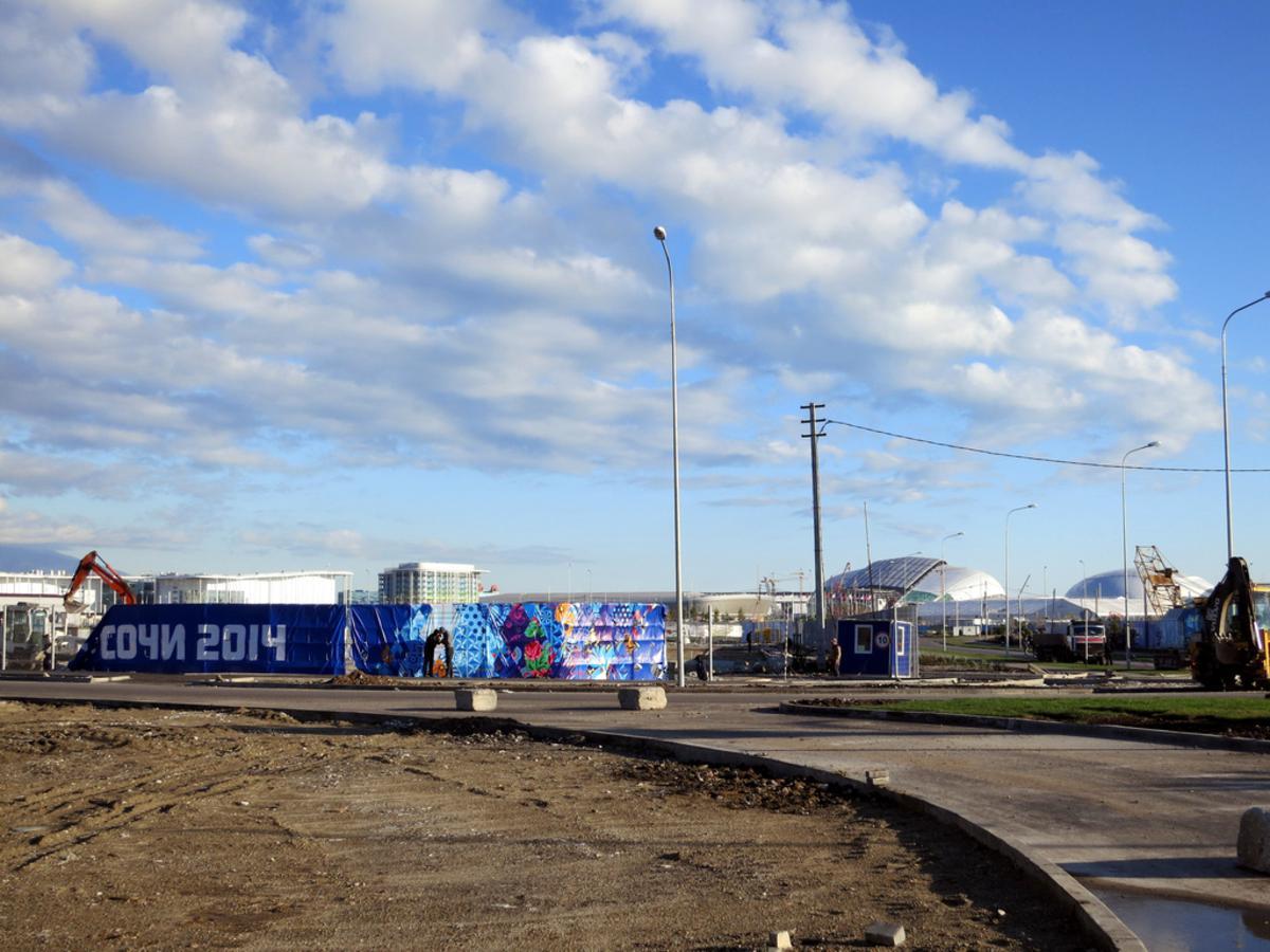 Het Olympisch park in Sotsji. foto rapidtravelchai/flickr.com