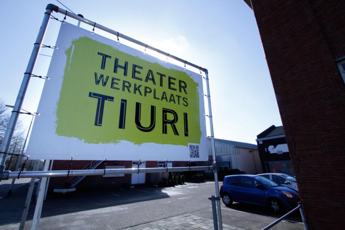 Theaterwerkplaats Tiuri aan de Speelhuislaan. foto Wijnand Nijs