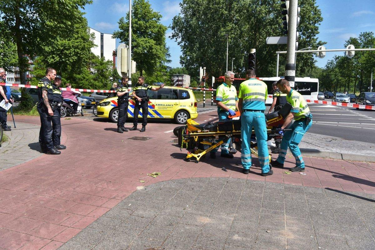 Twee gewonden bij ongeval met scooter op Nieuwe Kadijk