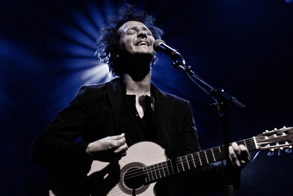 Tom Pintens, te zien, samen met andere concertfoto's vanaf 15 november in Velvet. foto Marianne van Meel.