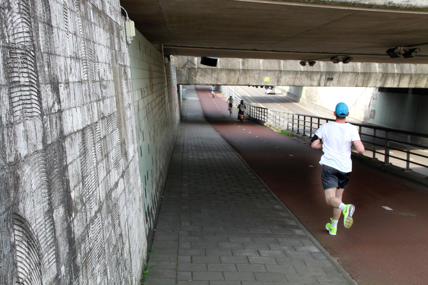 De Tunnel in de Westerparklaan, mei 2017.