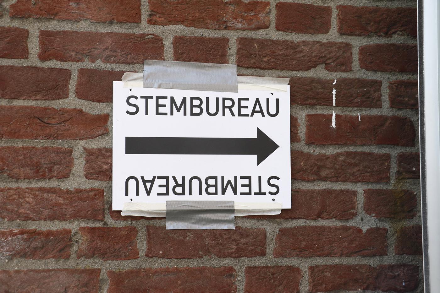 De Tweede Kamerverkiezingen in Breda, woensdag 15 maart 2017.