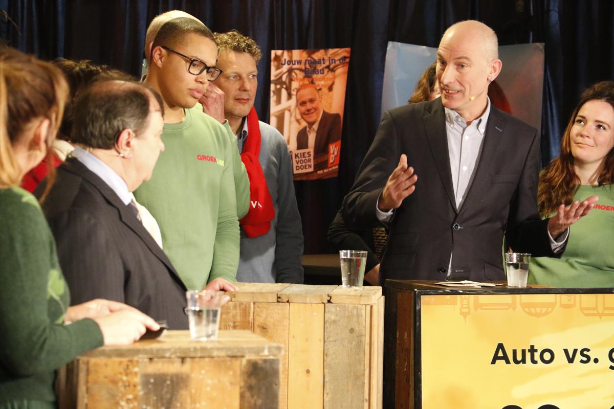Het Breda Media Debat op zaterdag 3 maart 2018.