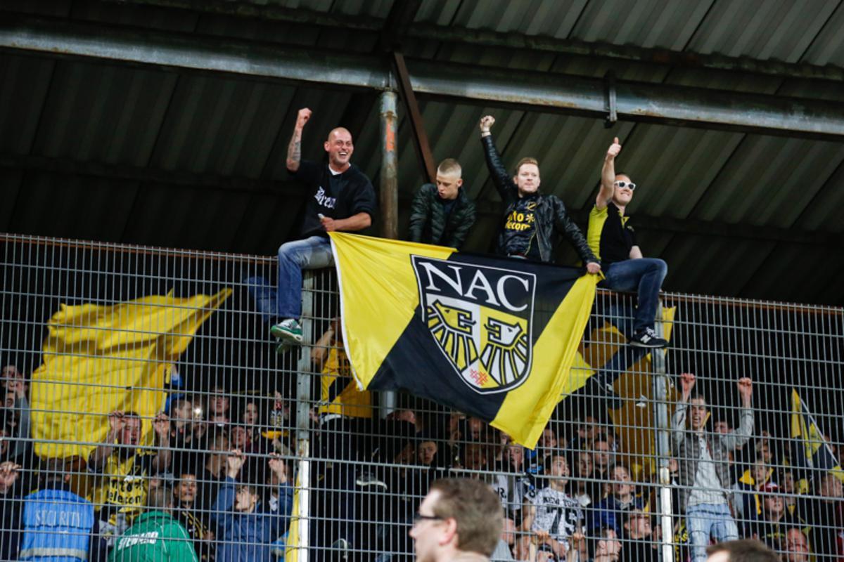 NAC won vrijdag 22 mei met 0-1 van VVV door een doelpunt van Guyon Fernandez.