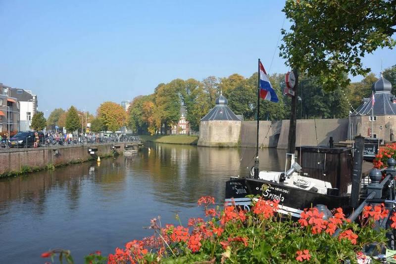 Spanjaardsgat in Breda onder een heerlijk zonnetje