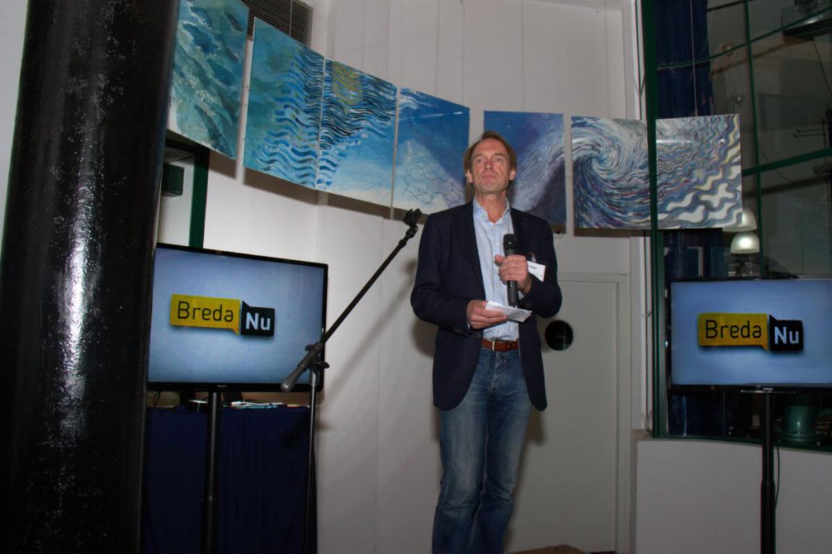 Voorzitter Willem Reijn van BredaNu. foto BredaVandaag.nl