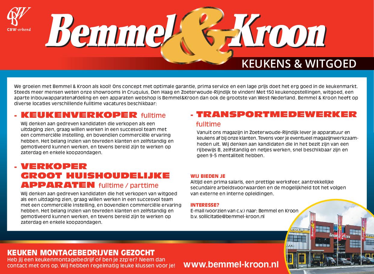 Bemmel En Kroon Ervaringen.Bemmel Kroon Delft Op Zondag