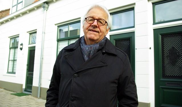Theo Thomassen, voorzitter van de Historische Vereniging Delfia Batavorum.
