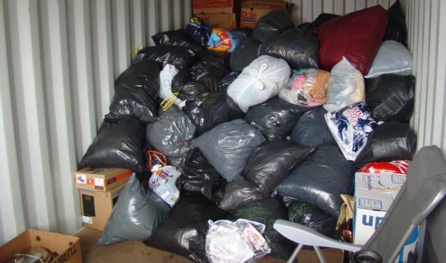 Dorcas houdt binnenkort voorgoed op met het inzamelen van goederen.