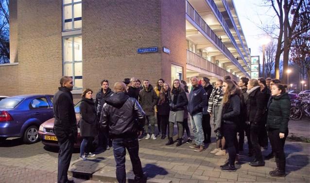 Glenn Weisz en zijn studenten gingen eerder dit op stap in Buitenhof. Hun bezoek leidde tot meerdere plannen.