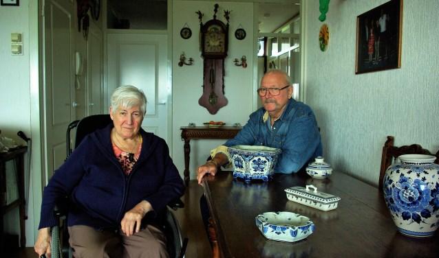 Mary en Daan Cinjee luidden afgelopen voorjaar in Delft op Zondag de noodklok over de thuiszorg.