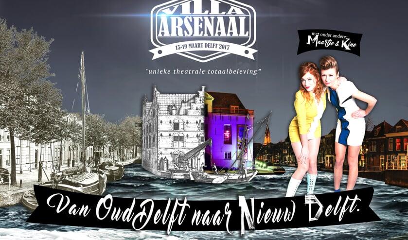 Maartje & Kine zijn tijdens Villa Arsenaal van de partij. U ook?