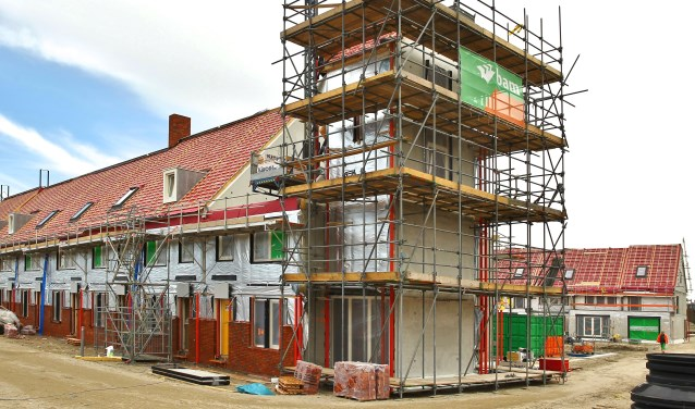 In Delft worden momenteel volop woningen gebouwd, dit betreft alleen geen sociale woningbouw.