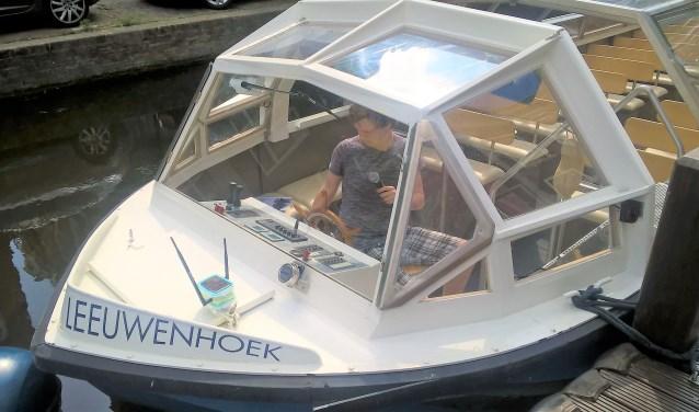 Sensoren op de rondvaartboten meten het geluidsniveau, temperatuur en luchtvochtigheid.
