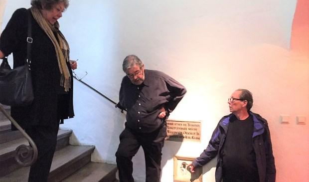 De Van Rossems op bezoek in Museum Prinsenhof Delft.