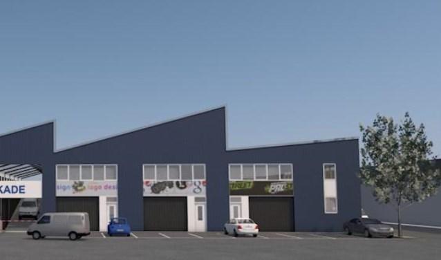 Garageboxen en bedrijfsruimten van nieuwbouwproject ´Schiekade´.