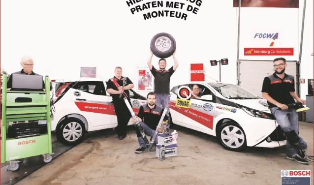 Het team van Idenburg Car Solutions verwelkomt u graag in de werkplaats.