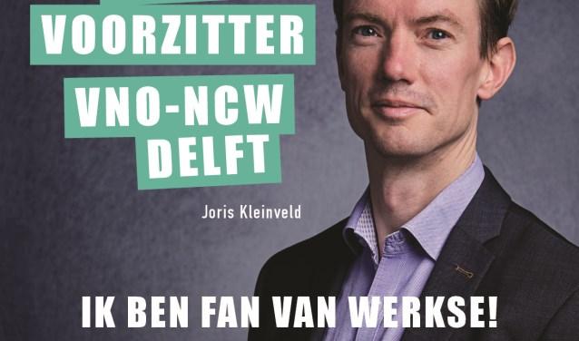 Joris Kleinveld hoopt in 2018 een mooie samenwerking met Werkse! aan te gaan, maar was ook vorig jaar al fan van Werkse!