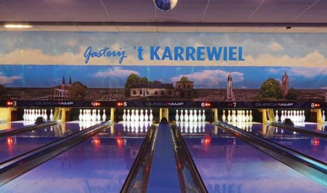Er kan zoveel meer dan alleen bowlen bij Gasterij 't Karrewiel