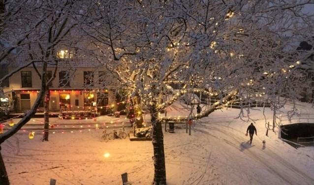 LEF aan het Doelenplein: ook in de winter een bezoekje waard!