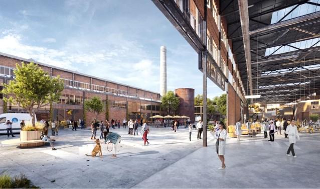 De toekomstige diversiteit en dynamiek in het Kabeldistrict Delft. (foto: PR)