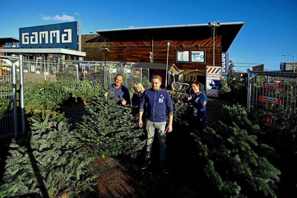 Delft Op Zondag Gamma Delft Grossiert In Mooie Kerstbomen