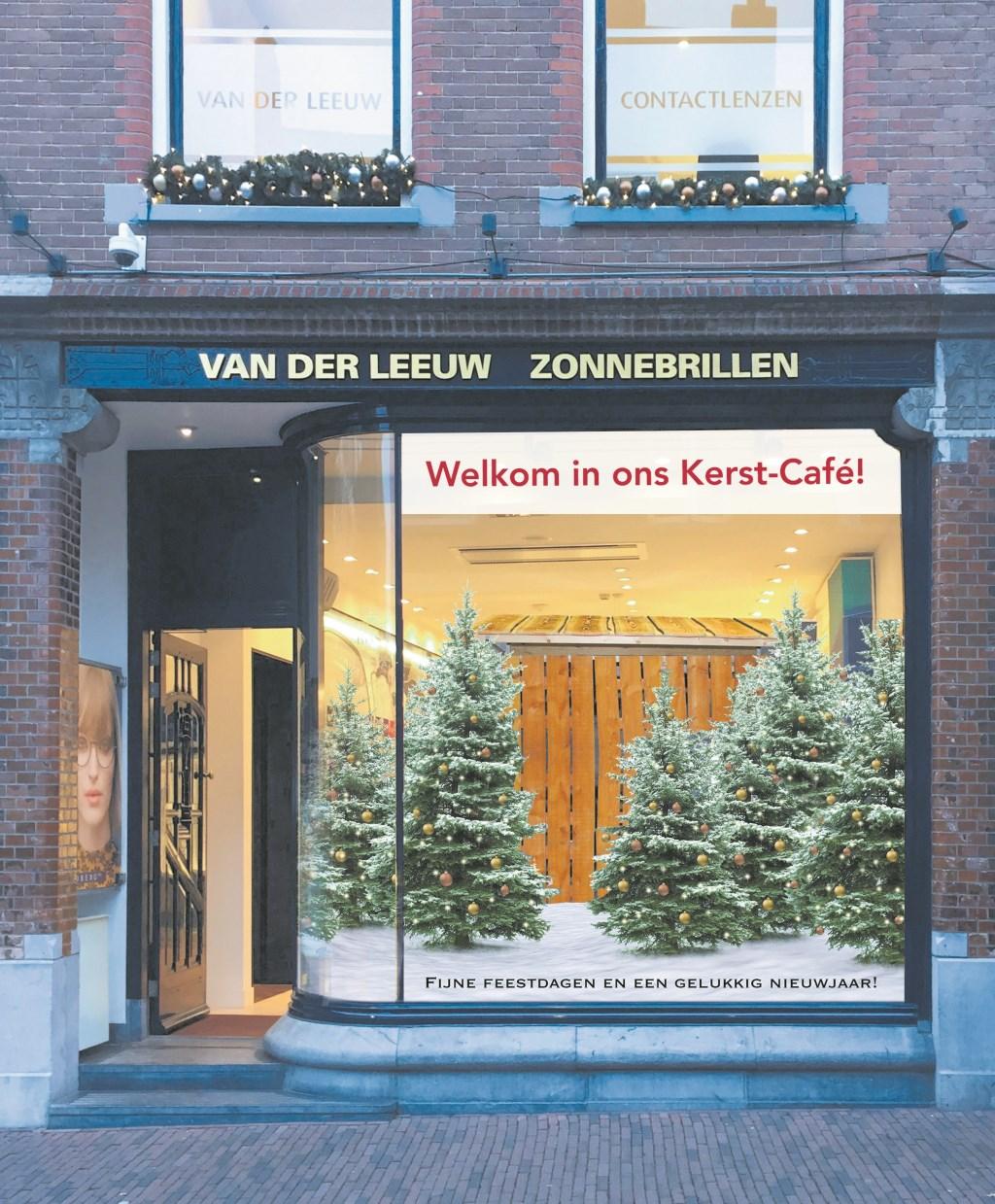 Het Kerst-Café bij Van der Leeuw gaat deze week open!  © RODI Media-zh