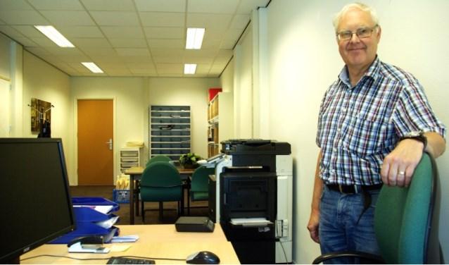 Peter van Koppen in zijn kantoor in de Plaspoelpolder in Rijswijk.