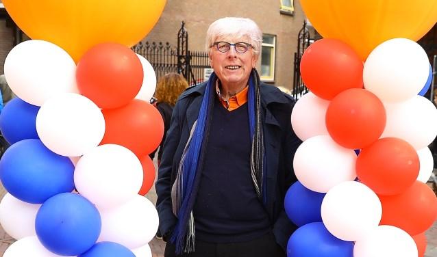 Leo Quack genoot met volle teugen van de festiviteiten rondom Koningsdag.