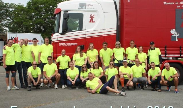 Team 243 kan ook dit jaar weer rekenen op hun sponsor Slager en Zandbergen