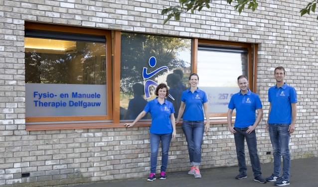 Het Team van Fysio- en Manuele Therapie Delfgauw. (Foto: PR)