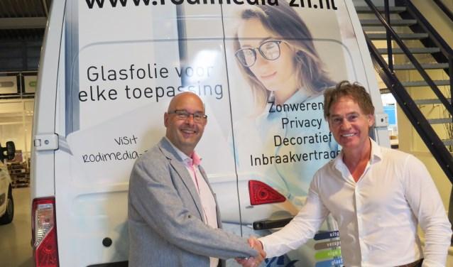 Edwin van der Zijden en Leo Rontberg zetten zich samen in voor lokaal ondernemerschap